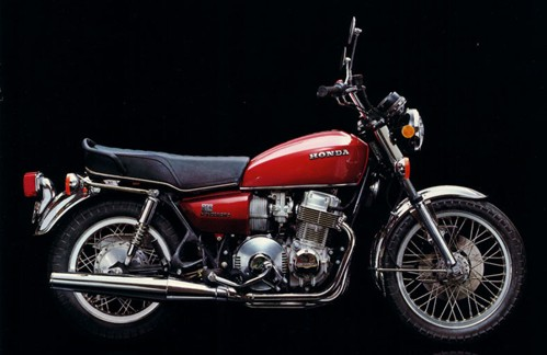 1976 Honda 750 automatic red