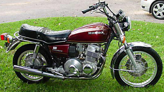 1977 Honda 750A automatic red