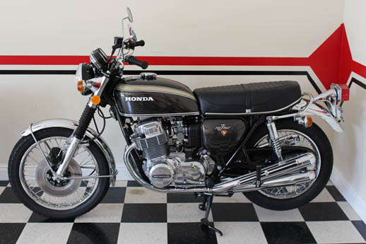 Honda 750 1972 brown