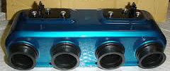 Honda 750 air box blue