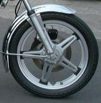 front Comstar wheel 1978 Honda 750 automatic
